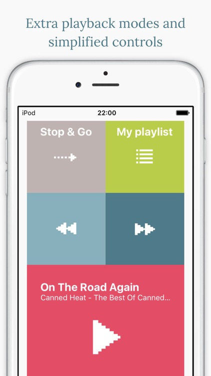 Stop&Go Music Player