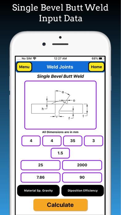 Welding Weight Calculator Pro screenshot 7