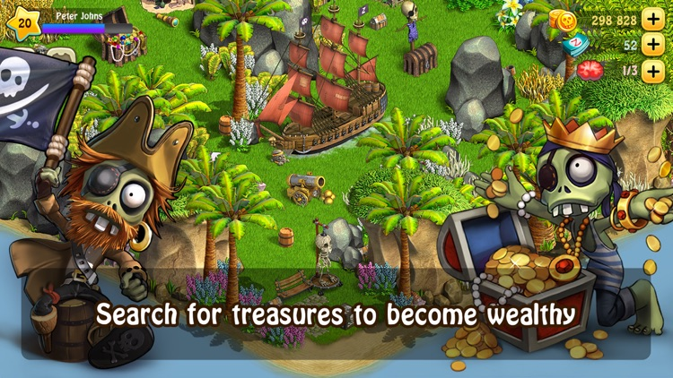 Zombie Castaways screenshot-3