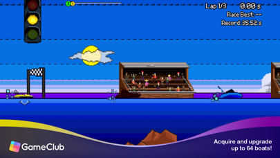 Pixel Boat Rush - GameClub screenshot 2