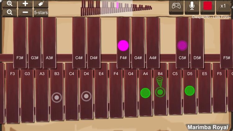 Marimba Royal screenshot-5