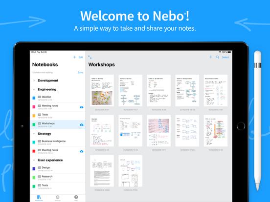 MyScript Nebo - iPad Preview