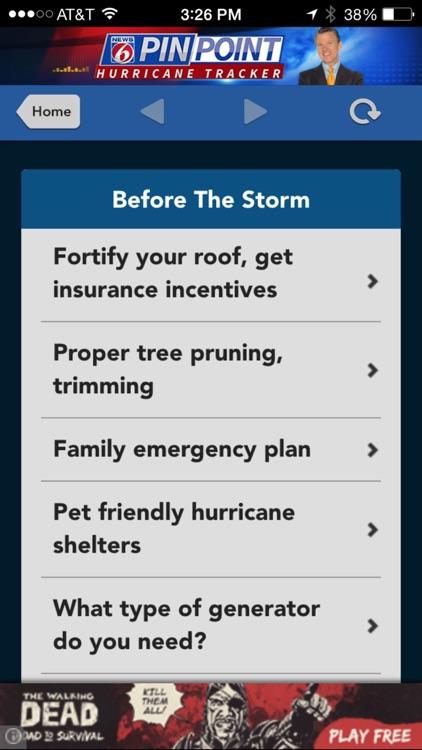News 6 Pinpoint Hurricane screenshot-3