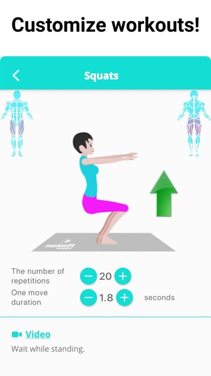 Buttocks Butt and Legs Workout screenshot-4