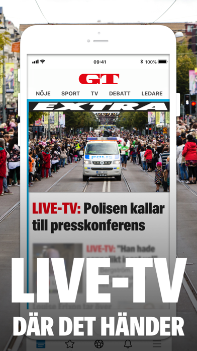 GT – Nyheter Göteborg på PC