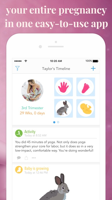 Screenshot #2 pour Ovia Pregnancy Tracker