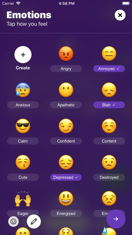 Mood - Journal & Anxiety Chat screenshot-0