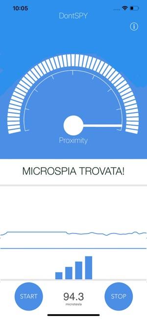 DontSpy, l'app per trovare le cimici nascoste - Melamorsicata