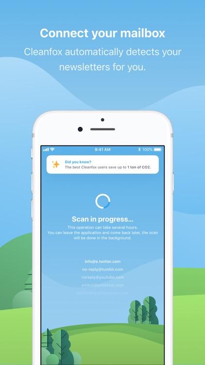 Cleanfox, Inbox & Spam Cleaner screenshot-0