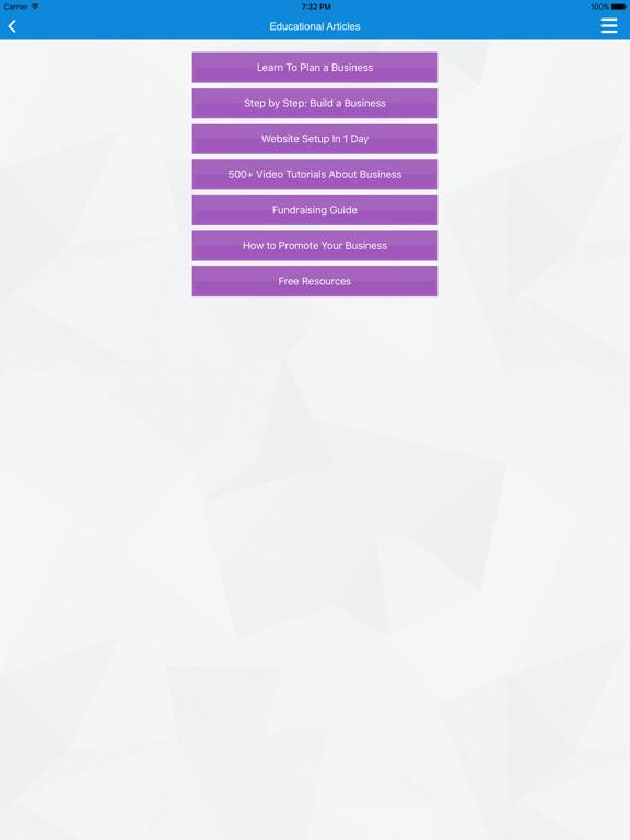 Business Plan & Start Your Business screenshot