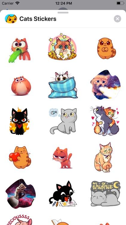 Famous Cats Stickers screenshot-5