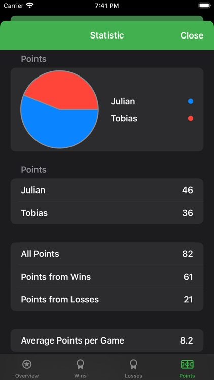 Score Tracking and Statistics screenshot-3