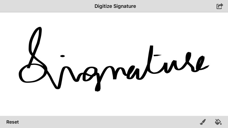 Digitize Signature