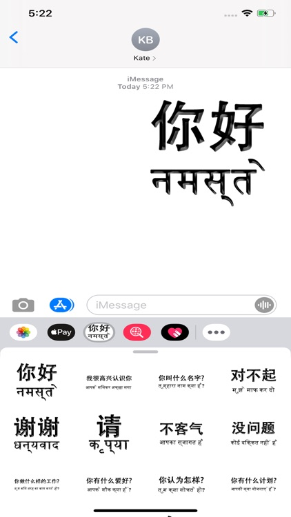 Hindi Chinese