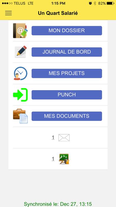 Un Quart Salarié screenshot one