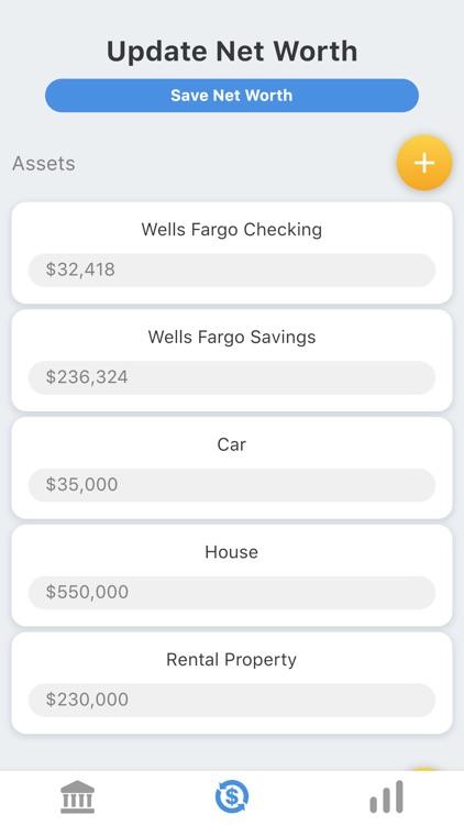 My Net Worth Tracker