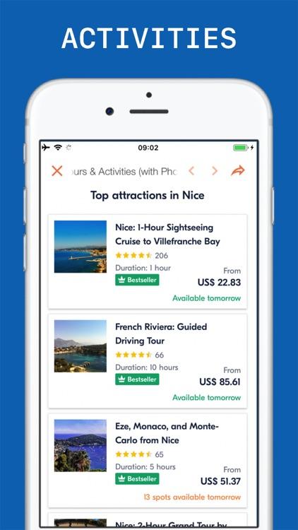 Nice Travel Guide . screenshot-5