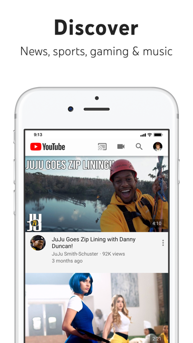 Screenshot for YouTube: Watch, Listen, Stream in Canada App Store