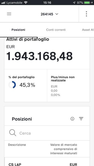 Screenshot of Credit Suisse Digital5