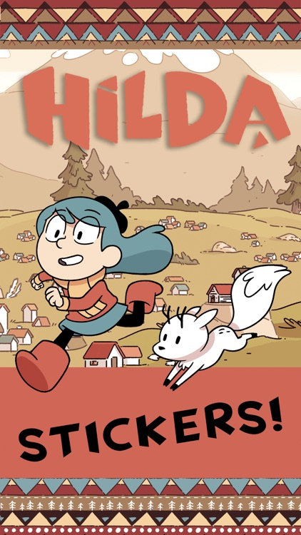Hilda Stickers