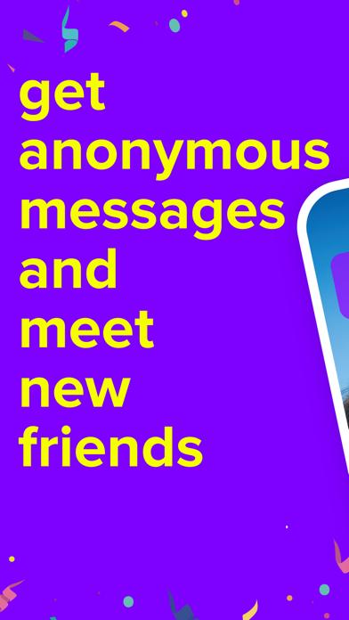 F3 - 匿名質問、チャットのおすすめ画像1