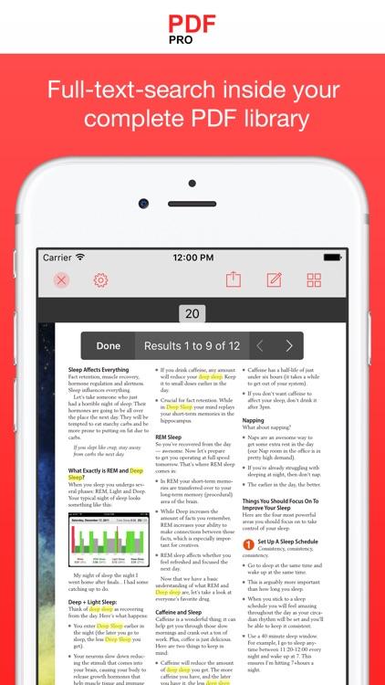 PDF Pro 3 screenshot-3