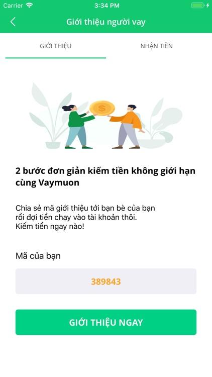 Vay Mượn-Vay tiền online nhanh screenshot-3
