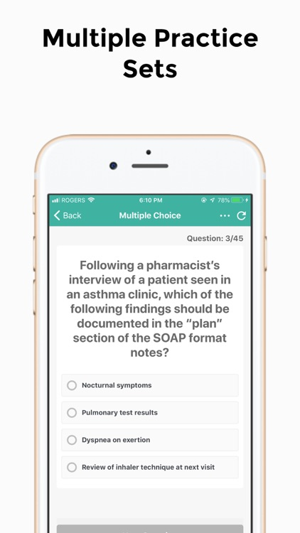 Pharmacist PEBC Practice Test