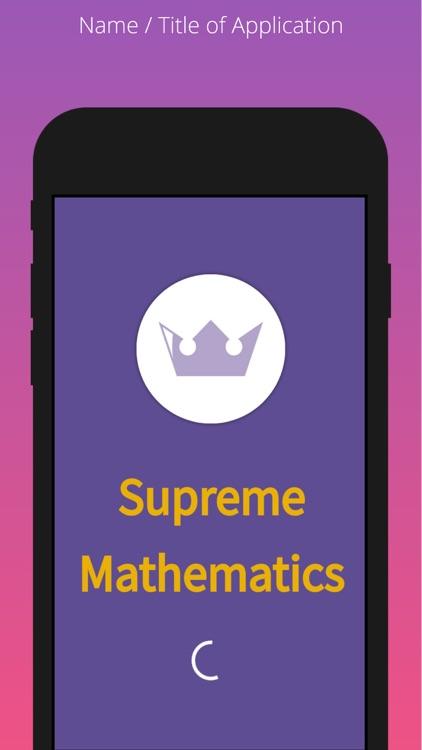 Supreme Mathematics