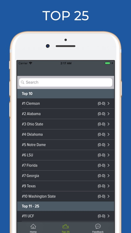 Mississippi Football Schedules screenshot-4