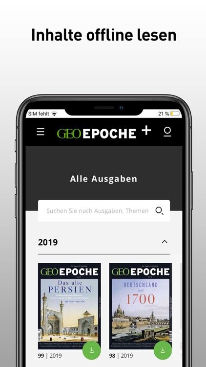 GEO EPOCHE-Magazin screenshot-3