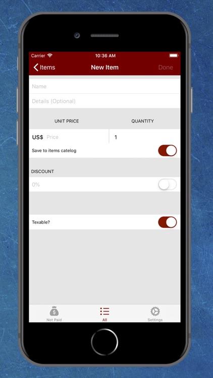 Invoice Maker - Receipt Maker screenshot-4