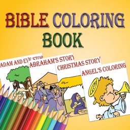 Bible coloring book stories