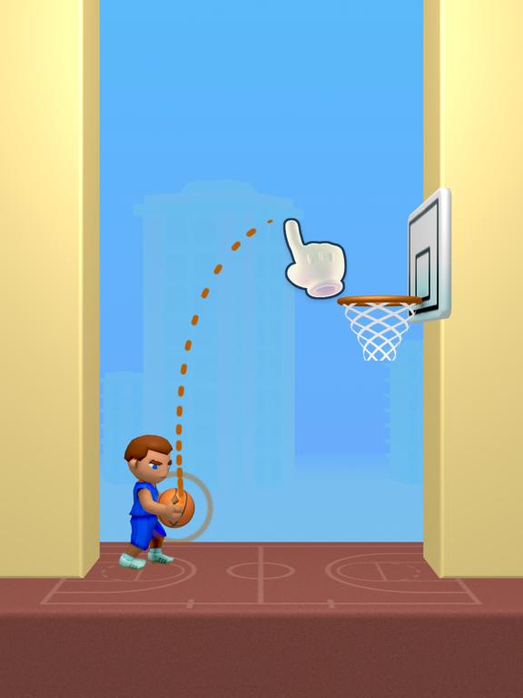Doodle Dunk iPad app afbeelding 1