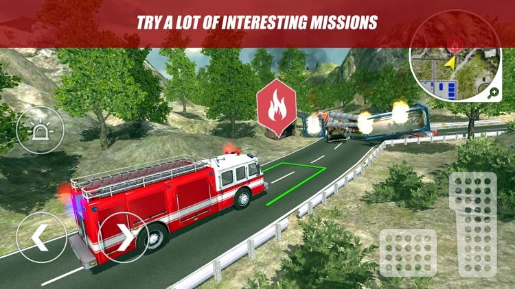 Firefighter and Fire Trucks 2