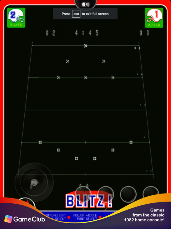 Vectrex - GameClub screenshot 6