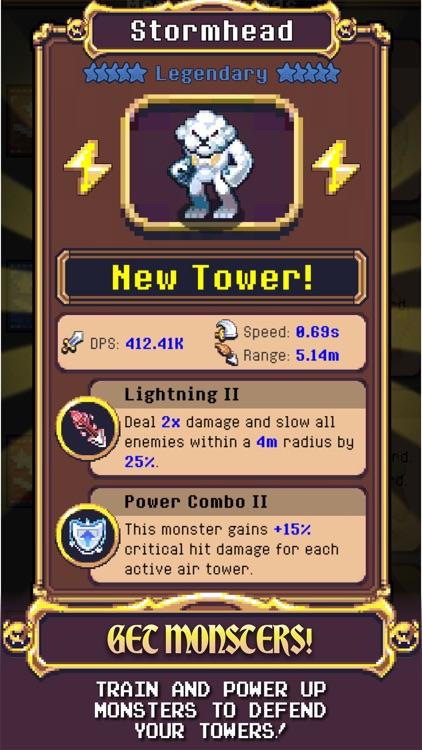 Idle Monster TD screenshot-4