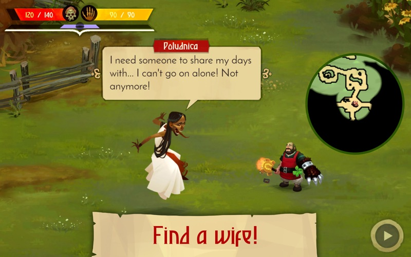 Yaga The Roleplaying Folktale screenshot 5