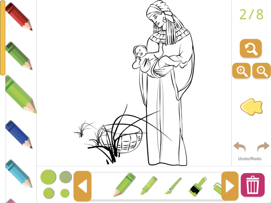 Biblia Coloring Story Book screenshot 6