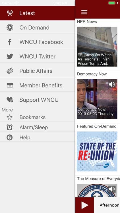 WNCU Public Radio App screenshot-3