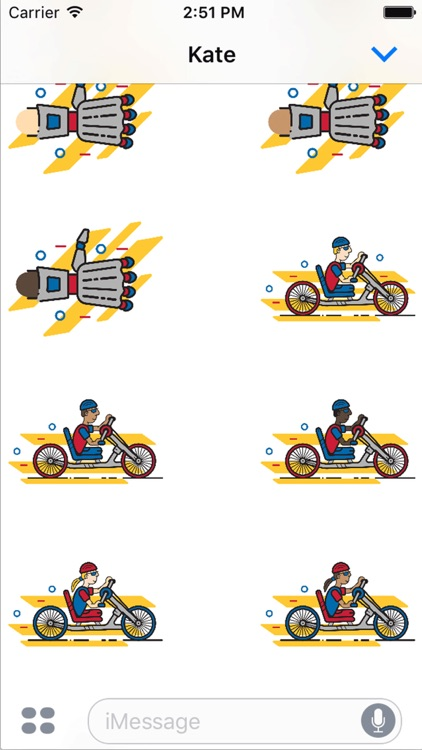 Achilles Marathon Sticker Pack screenshot-3