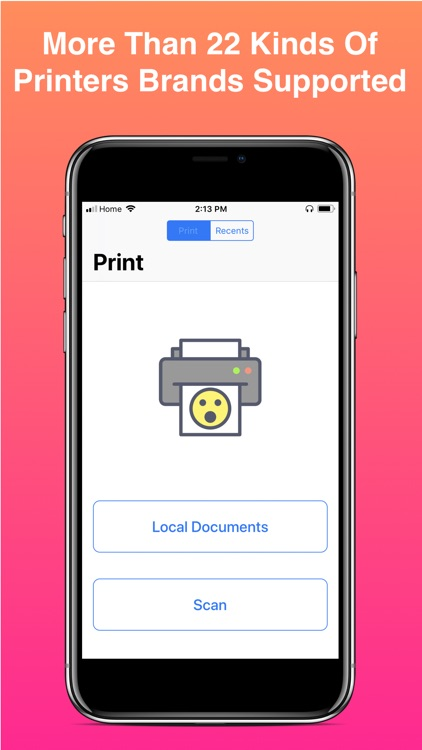 iPrint WiFi Printer - AirPrint