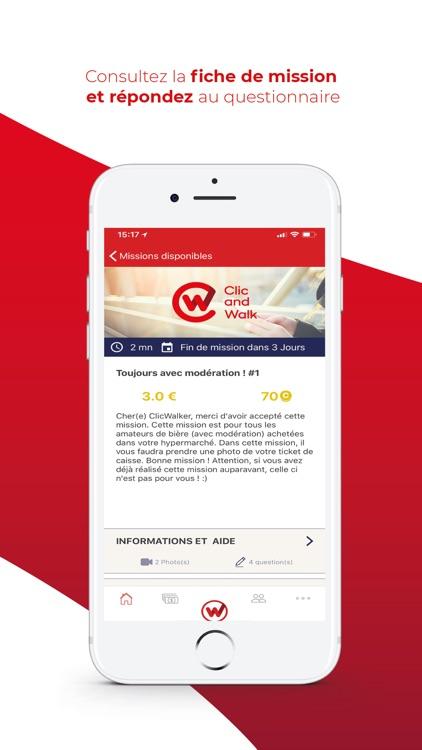 Clic and Walk : Snap & Earn £