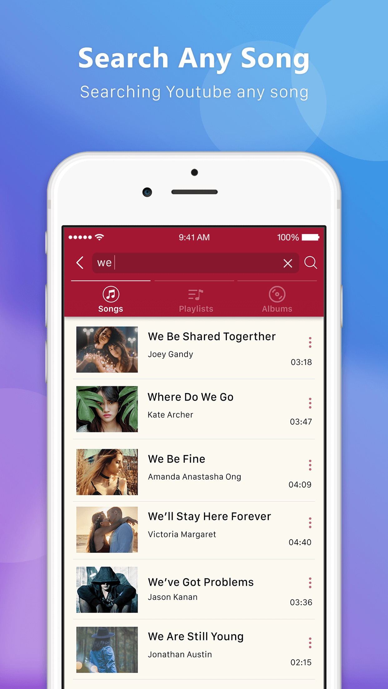 Tubie Video - Music Streaming Screenshot