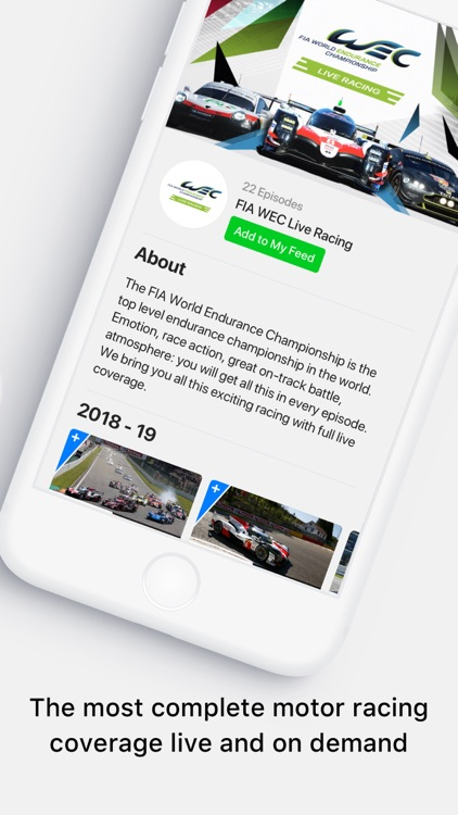 Motorsport.tv: racing videos
