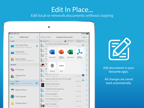 FileBrowser - Document Manager Screenshots