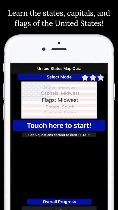 United States Map Quiz screenshot three