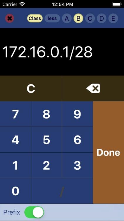 IP Keypad - Subnet Calculator screenshot-4