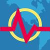 地震 + 地図, 情報, 警告 - Earthquake +