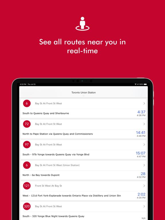 RocketMan Transit App screenshot